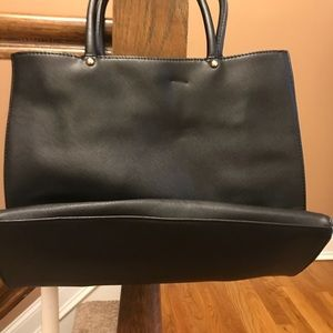 Forever 21 large black tote